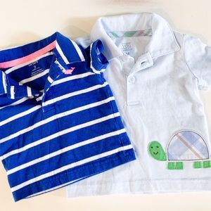 Two Preppy Baby Polos Carter's Baby 0-3 Months